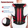 Магнитный ортопедический корректор осанки для спины Power Magnetic Posture Support EMSON, фото 3