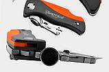 Sheffield S067220 Профи Складной универсальный нож . Многофункциональный карманный . Лезвия SK5 трапеция, фото 4