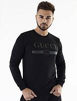 Свитшот мужской черный Gucci