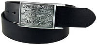 Ремень LEVIS Levi's Men's 38MM Plaque Bridle Belt With Snap Closure