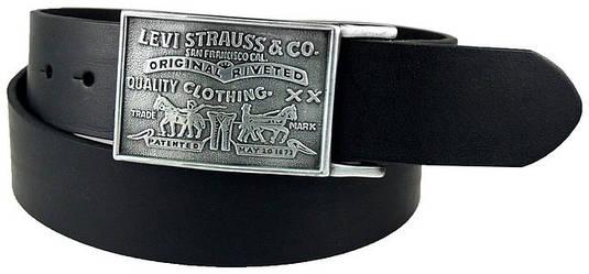 Ремень LEVIS Levi's Men's 38MM Plaque Bridle Belt With Snap Closure