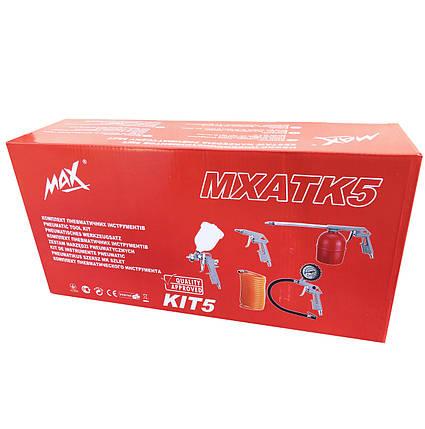 Набір пневмоінструментів MAX MXATK 5 предметів, фото 2