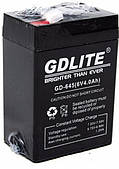 Аккумулятор для торговых весов фонарей светильников 6V 4A GDLITE GD-645