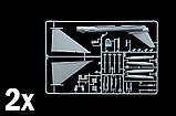 EF-2000. Пластиковая модель (в наборе 2 модели) многоцелевого боевого самолета в масштабе 1/72. ITALERI 1406, фото 3