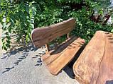 Мебель из массива берёзы 1100х800 с живым краем от производителя для дачи, кафе, комплект Furniture set - 32, фото 5