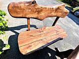 Мебель из массива берёзы 1100х800 с живым краем от производителя для дачи, кафе, комплект Furniture set - 32, фото 6