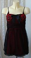 Платье женское нарядное вечернее гипюр бренд Bay р.44 3739