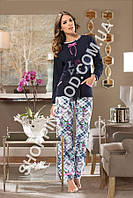 "Женская пижама Shirly 5904, домашний костюм с брюками ""Love"" цена со склада"