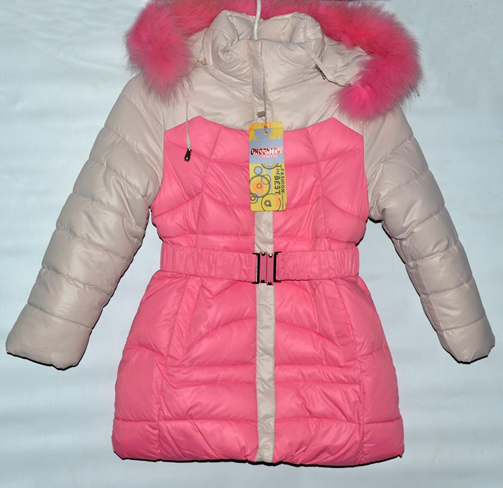 Зимове пальто для дівчат на 4-8 років   продажа 020b21112f147