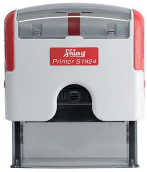 Б/У Shiny Premium Printer S-1824 Автоматические оснастки для штампа (штамп 58 x 22 мм.), фото 2