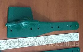 Головка коси (п'ятка) польська косарка 1,6 м кінна (Косарка фірми ZWEEGERS-PS; RADURA)