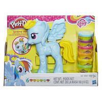 Набор для творчества Hasbro Play-Doh Стильный салон Рэйнбоу Дэш (B0011)