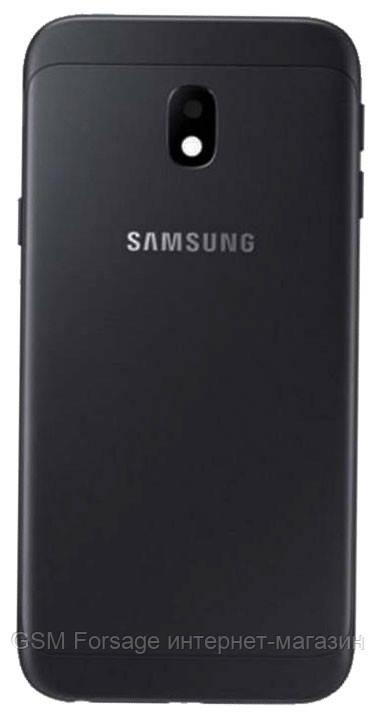 Задняя часть корпуса Samsung Galaxy J3 J330 (Black)