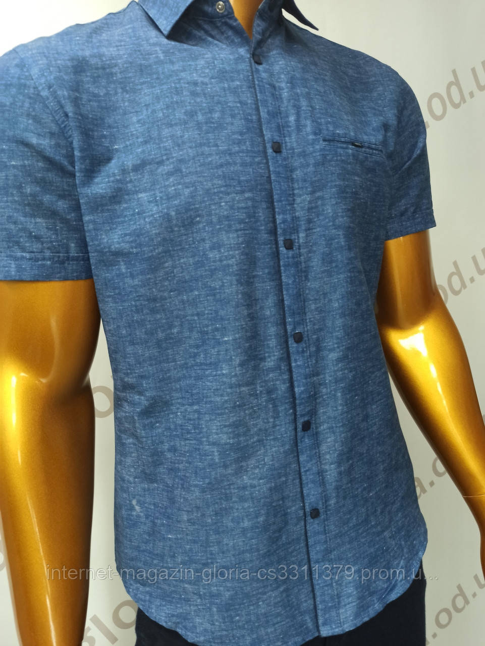 Мужская рубашка Amato. AG.19846(s). Размеры:L,XL(2), XXL.