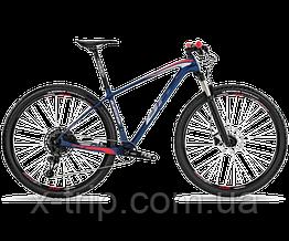 Велосипед горный BH Ultimate RC 6.5 Navy/Gray/Red, L (BH A6599.Z82-L)