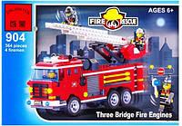 """Детский конструктор Brick 904 """"Пожарная охрана"""", Конструктор Брик"""