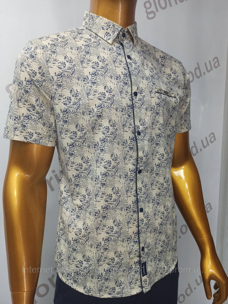 Мужская рубашка Amato. AG.19885(j). Размеры:M,L,XL, 2XL.