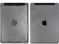 Задняя крышка для iPad Air (версия 3G), черный, Space Gray, оригинал