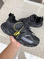 Мужские кроссовки Balenciaga Track (черные) 9732
