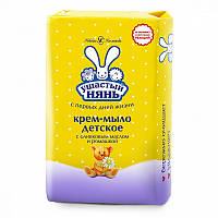 Крем-мыло с оливковым маслом и ромашкой Ушастый нянь 90 гр