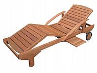 Шезлонг деревянный 195 / 30 / 72 cm ERA HECHT до 160 кг