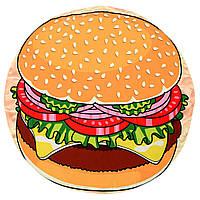 Быстросохнущее пляжное полотенце Гамбургер