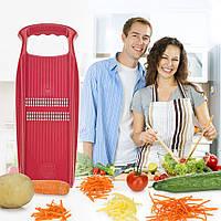Терка для корейской моркови Роко Прима Borner красная, фото 1