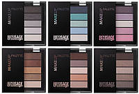 Тени для век LUXVISAGE MakeUp Palette