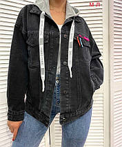 Джинсовий піджак 3592 (АХ), фото 3