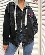 Джинсовый пиджак 3592 (АХ), фото 3