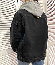 Джинсовий піджак 3592 (АХ), фото 2