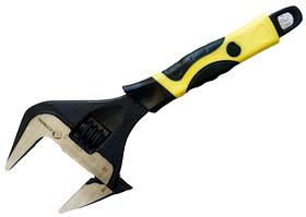 Ключ розвідний Сталь 200 мм з тонкими губами до 39 мм
