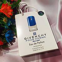 Givenchy Pour Homme Blue Label - Travel Perfume 50ml в подарочной упаковке