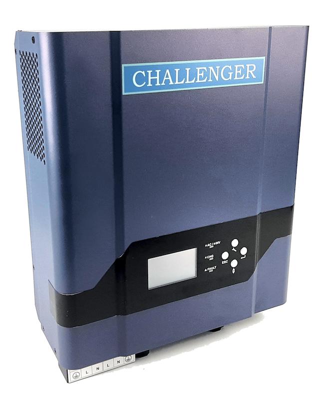 Автономный инвертор CHALLENGER Spirit 3 KVA со встроенным контроллером заряда АКБ