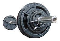 Штанга наборная олимпийская 123.5 кг 2.2 м