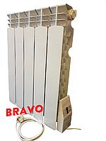 Електрорадіатор Ера 5 секції 650 Вт-10 м2