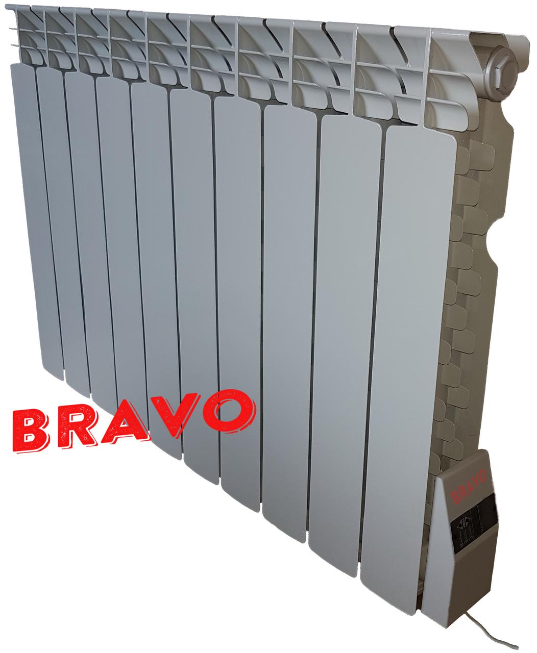 Электрорадиатор Bravo 8 секций 910 Вт-15 м²