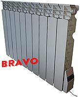 Электрорадиатор Bravo 10 секций 1300 Вт-18 м²