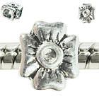 Бусина Шарм Бант, Металлическая Цвет: Серебро в стиле Пандора, Материалы для Изготовления Украшений, фото 2