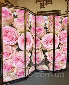 """Ширма для салонів краси """"Розы""""170х200см"""