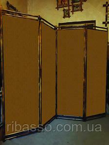"""Ширма для дома """"Сота """"коричневая 170х200см"""