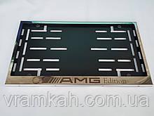 Номерна рамка для авто AMG Edition, Mercedes-Benz