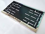 Номерная рамка для авто AMG Edition, Mercedes-Benz, фото 3