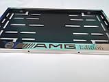 Номерная рамка для авто AMG Edition, Mercedes-Benz, фото 5