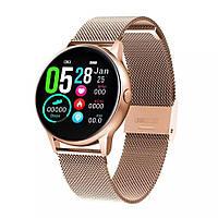 Смарт часы Фитнес браслет DT88 женские с измерением давления и пульса