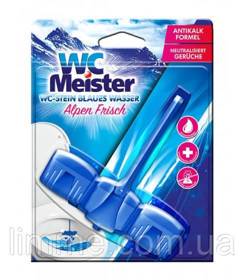 Підвіска для унітаза WC Meister Alpen frisch 45 г (З ароматом Альпійська свіжість)