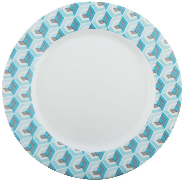 Набор 6 обеденных тарелок Luminarc Astelia Blue Ø26.5см