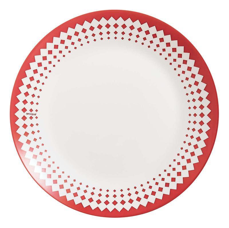 Набор 12 десертных тарелок Arcopal Adonie Ø18см