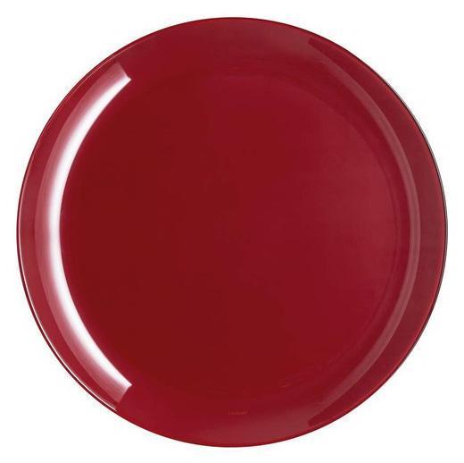 Набор 6 десертных тарелок Luminarc Arty Burgundy Ø20.5см, стекло