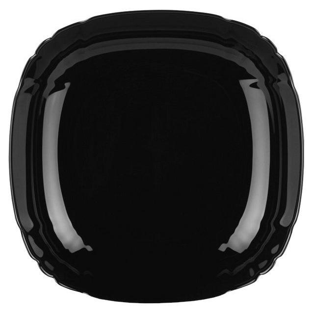 Набор 6 суповых тарелок Luminarc Lotusia Black Ø20.5см, стеклокерамика